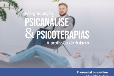 Formação em Psicanálise – Nova turma 2° semestre